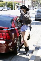 Kylie Jenner - Out in Hollywood - August 2014