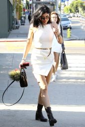 Kylie Jenner Style - Leaving Fred Segal in West Hollywood - August 2014