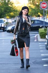 Kylie Jenner Style - Out in Calabasas, August 2014