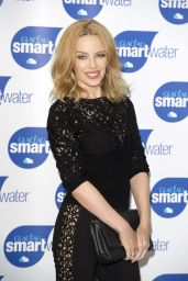 Kylie Minogue at Glacéau Smartwater Launch Photocall in London