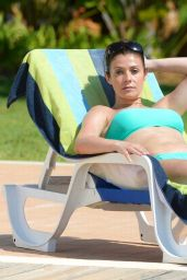 Kym Marsh Bikini Candids - in Portugal, August 2014