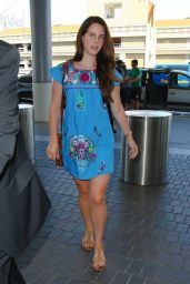 Lana Del Rey at LAX Airport - August 2014