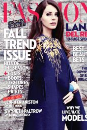 Lana Del Rey - Fashion Magazine (Canada) - September 2014 Cover