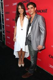 Laura Aleman – Crackle's Summer Premieres Event at 1 OAK – August 2014