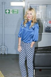 Laura Whitmore at the ITV Studios in London - August 2014