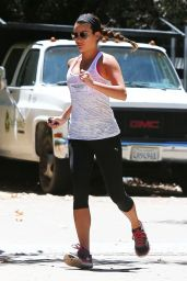 Lea Michele With Her Boyfriend - Hike in Los Angeles, August 2014