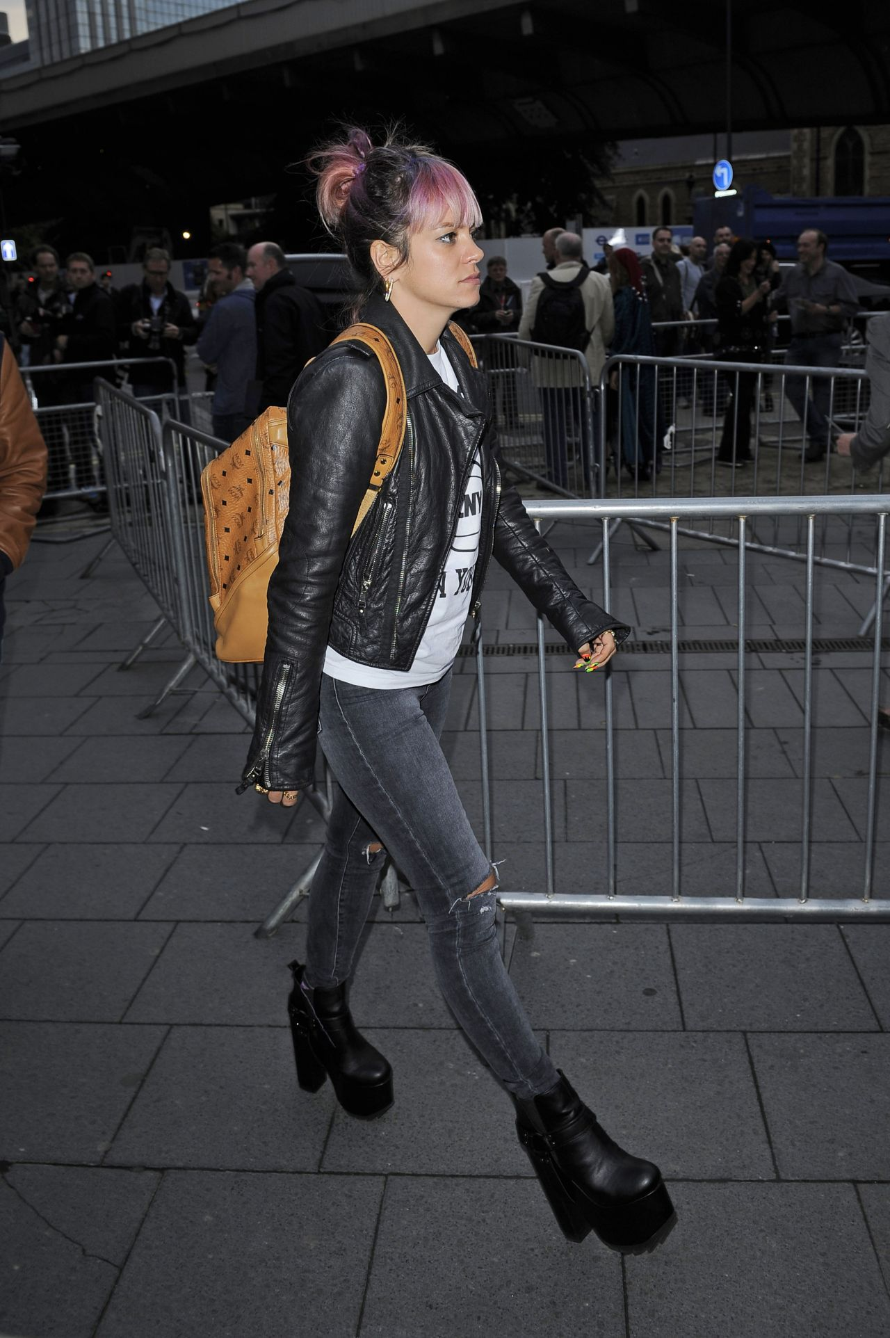 Lily Allen at Kate Bush Concert at Eventim Apollo in London