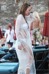 Lindsay Lohan Bikini Candids - Greece - August 2014