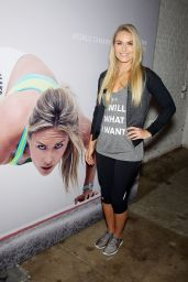 Lindsey Vonn at Under Armour