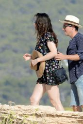Liv Tyler with Boyfriend Dave Gardner in Formentera,  August 2014