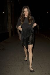 Liv Tyler With Her Boyfriend Dave Gardner at Shoreditch House in London August 2014