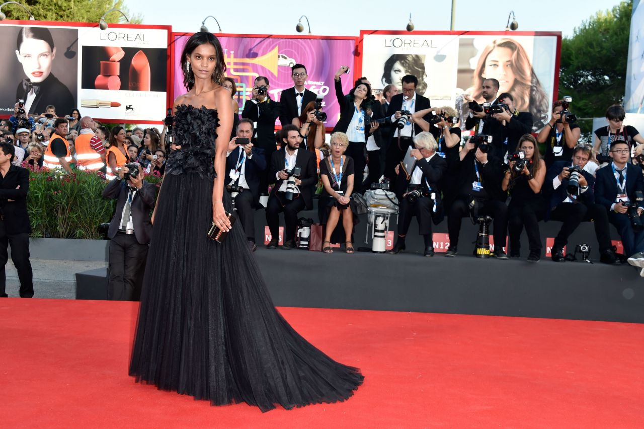 Liya Kebede – 2014 Venice Film Festival Opening Ceremony and 'Birdman' Premiere