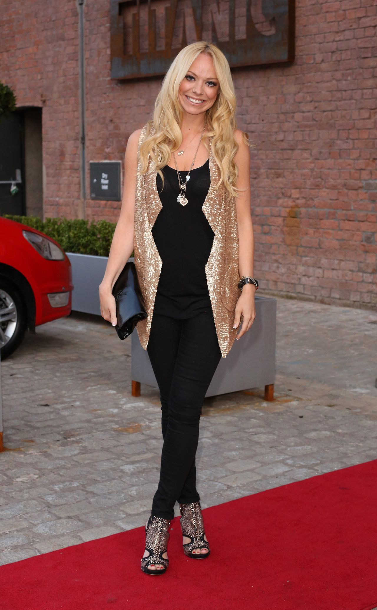 Liz McClarnon- Heart FM Launch Party in Liverpool