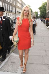 Liz McClarnon in Mini Dress - OK! Summer BBQ in London - July 2014