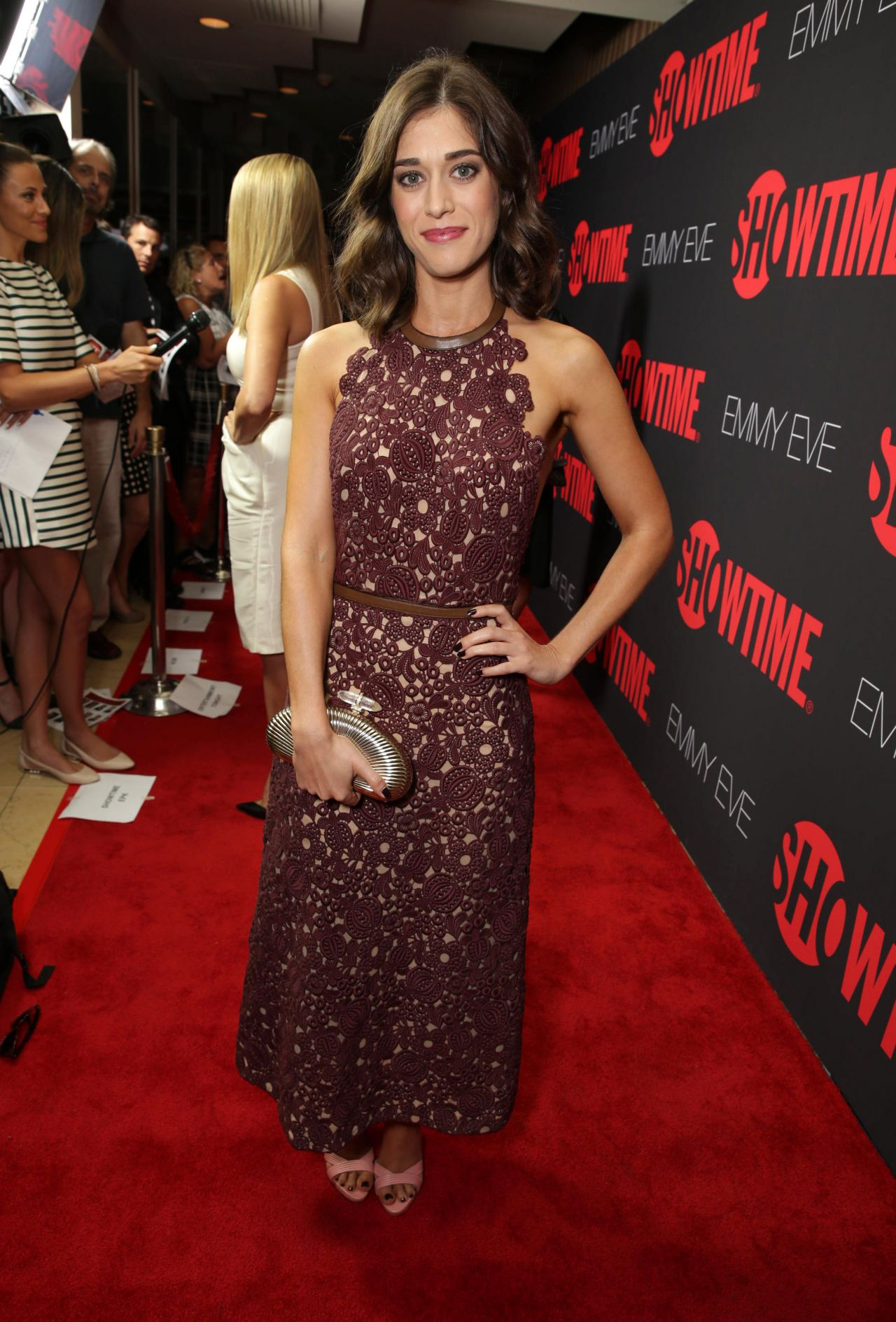Lizzy Caplan – Showtime's 2014 Emmy Eve Soiree in West ... Emmy Eve