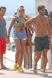 Lourdes Leon Bikini Candids - Cannes, August 2014