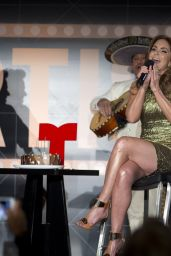 Lucero - Telemundo Press Conference - August 2014