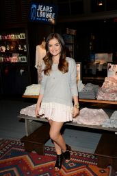 Lucy Hale at Lucy Hale Hollister Clothing Collection Launch in Century City