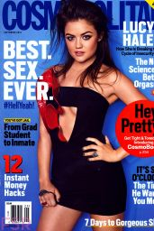 Lucy Hale - Cosmopolitan Magazine September 2014 Issue