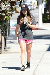 Lucy Hale Street Style - Out in Los Angeles - August 2014