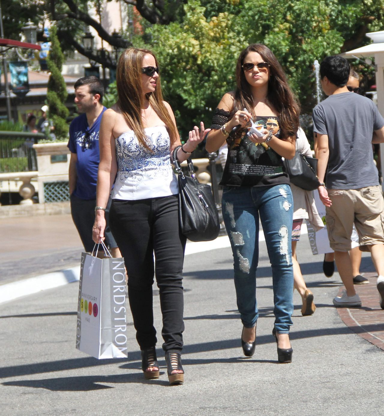 Madison Pettis - Out at The Grove in Los Angeles With a Friend, August 2014