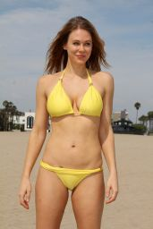 Maitland Ward Bikini Pics - Beach in Marina Del Rey - July 2014