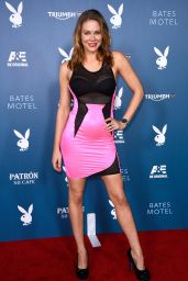 Maitland Ward - Playboy And A&E Bates Motel Party at SDCC 2014