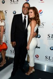 Maria Menounos at SLS Las Vegas Grand Opening in Las Vegas