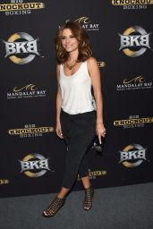 Maria Menounos – Big Knockout Boxing Inaugural Event in Vegas – August 2014
