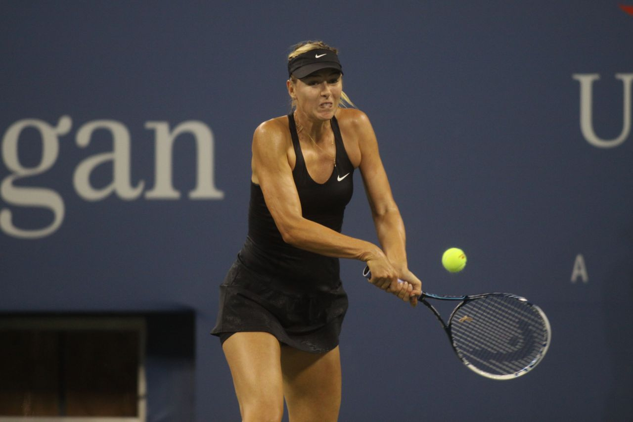 Maria Sharapova – 2014 U.S. Open Tennis Tournament in New York City – 1st Round