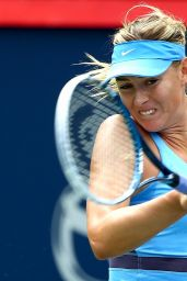 Maria Sharapova – Rogers Cup 2014 in Montreal, Canada – 3rd Round