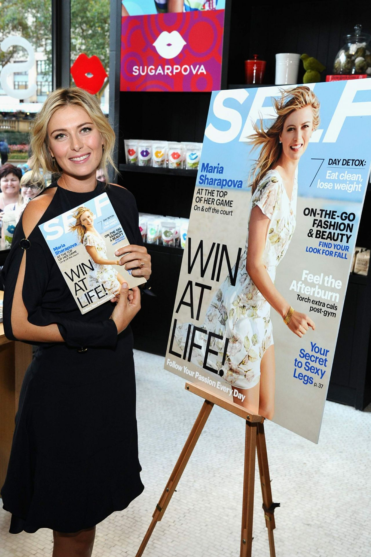 Maria Sharapova - SELF Made Woman Q&A Event - August 2014