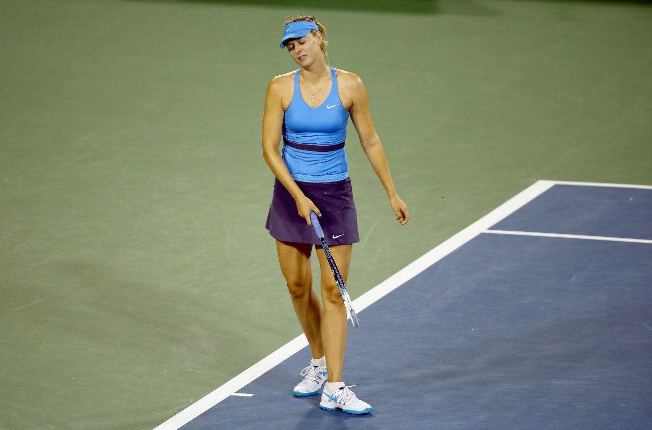 Maria Sharapova - Western and Southern Open 2014 in Cincinnati - Semi-Final