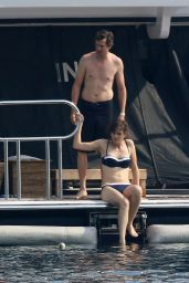 Marion Cotillard in a Bikini on a Yacht in Cannes - June 2014