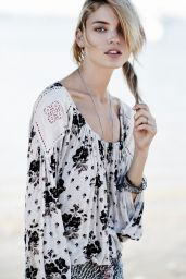 Martha Hunt Photoshoot for Free People, August 2014