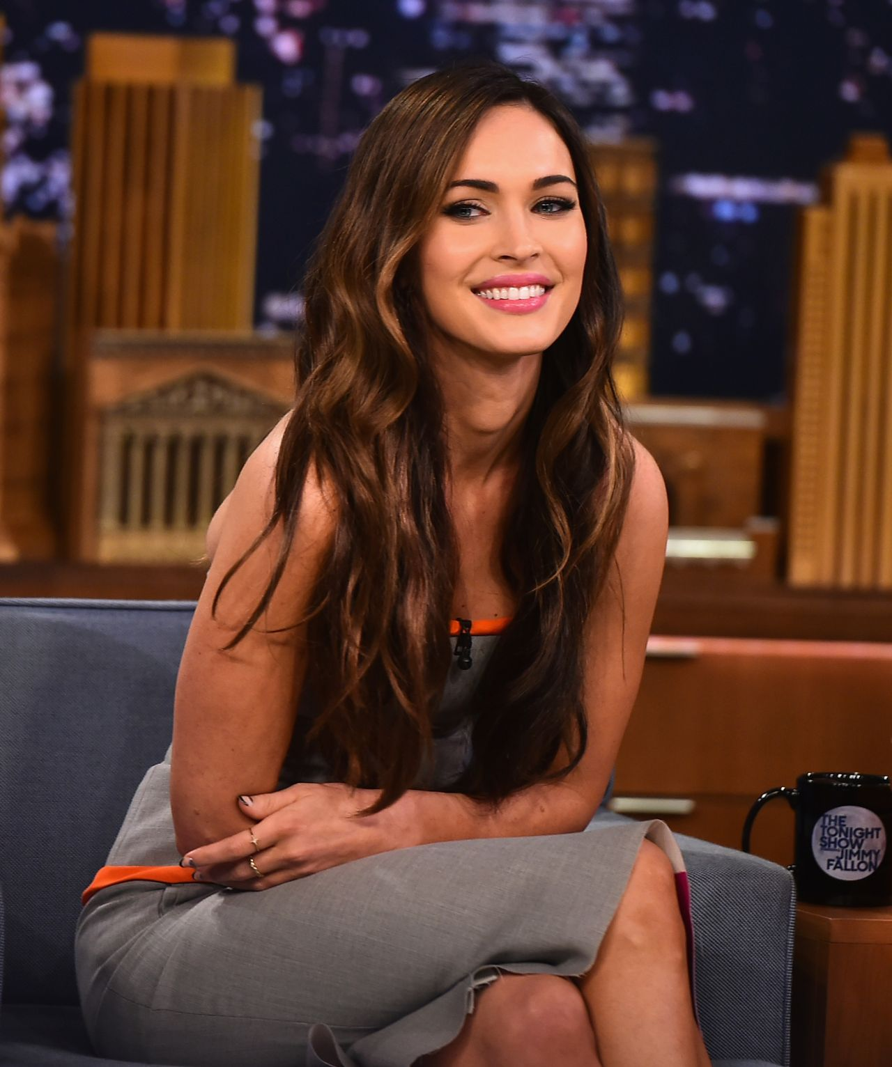 Megan Fox Appeared On The Tonight Show Starring Jimmy -7884