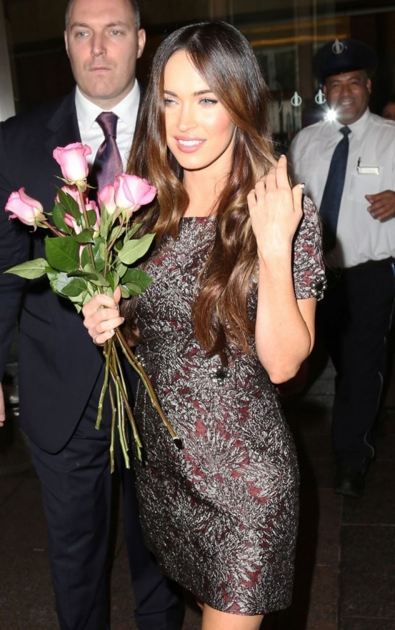Megan Fox at SiriusXM Radio in New York City - August 2014