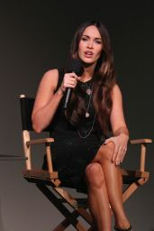 Megan Fox Interviewed at the Apple Soho Store in Manhattan - August 2014