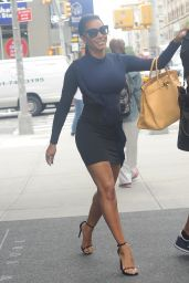 Melanie Brown Leaving Her Hotel in New York City - August 2014