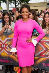 Melanie Brown - X Factor Auditions in London - August 2014