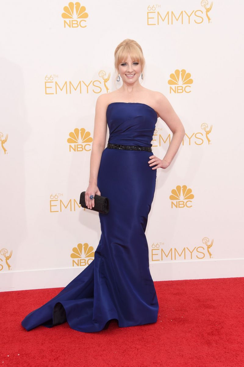 Melissa Rauch – 2014 Primetime Emmy Awards in Los Angeles