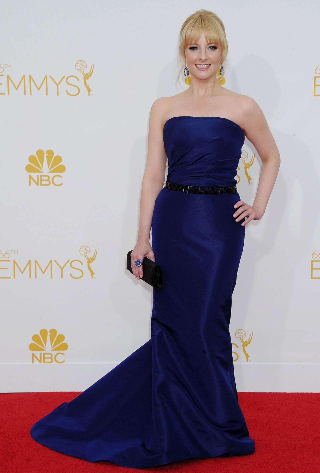 Melissa Rauch 2014 Primetime Emmy Awards In Los Angeles