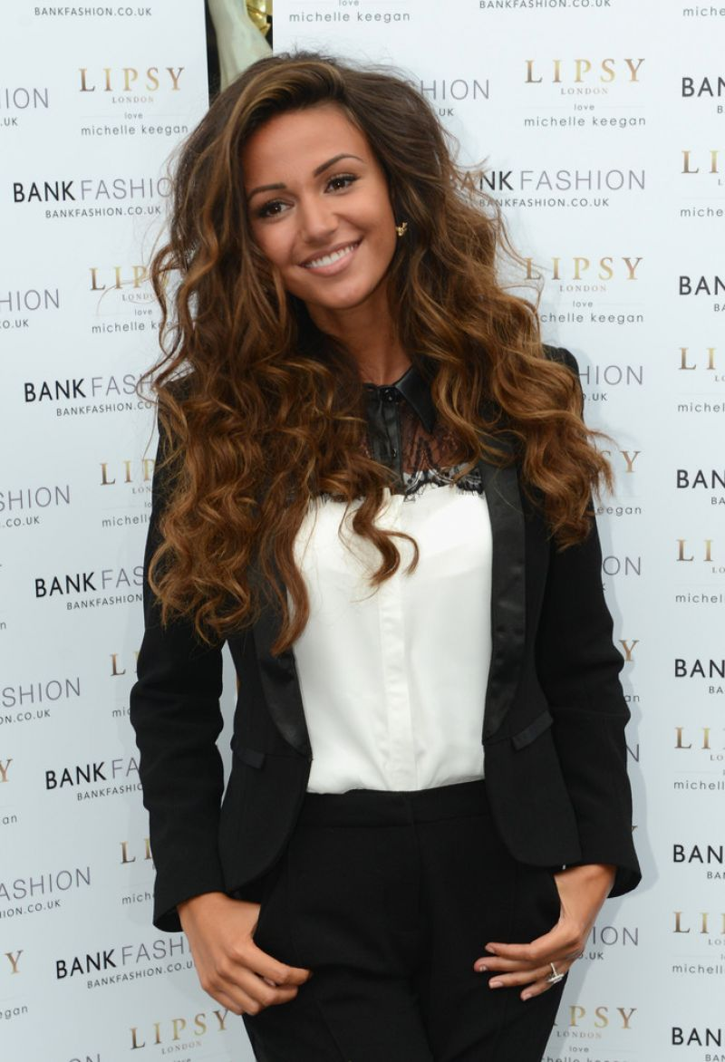 Michelle Keegan - Launch of BANK Liverpool - August 2014