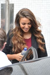 Michelle Keegan - Outside ITV Studios in London - August 2014