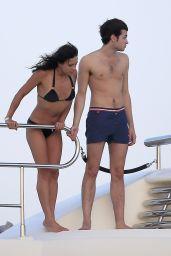 Michelle Rodriguez Bikini Candids - Ibiza & Formentera, August 2014