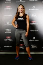 Miesha Tate - UFC Tokyo Press Conference - August 2014