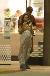 Mila Kunis and Ashton Kutcher - Stops For Ice Cream in Los Angeles - Aug. 2014