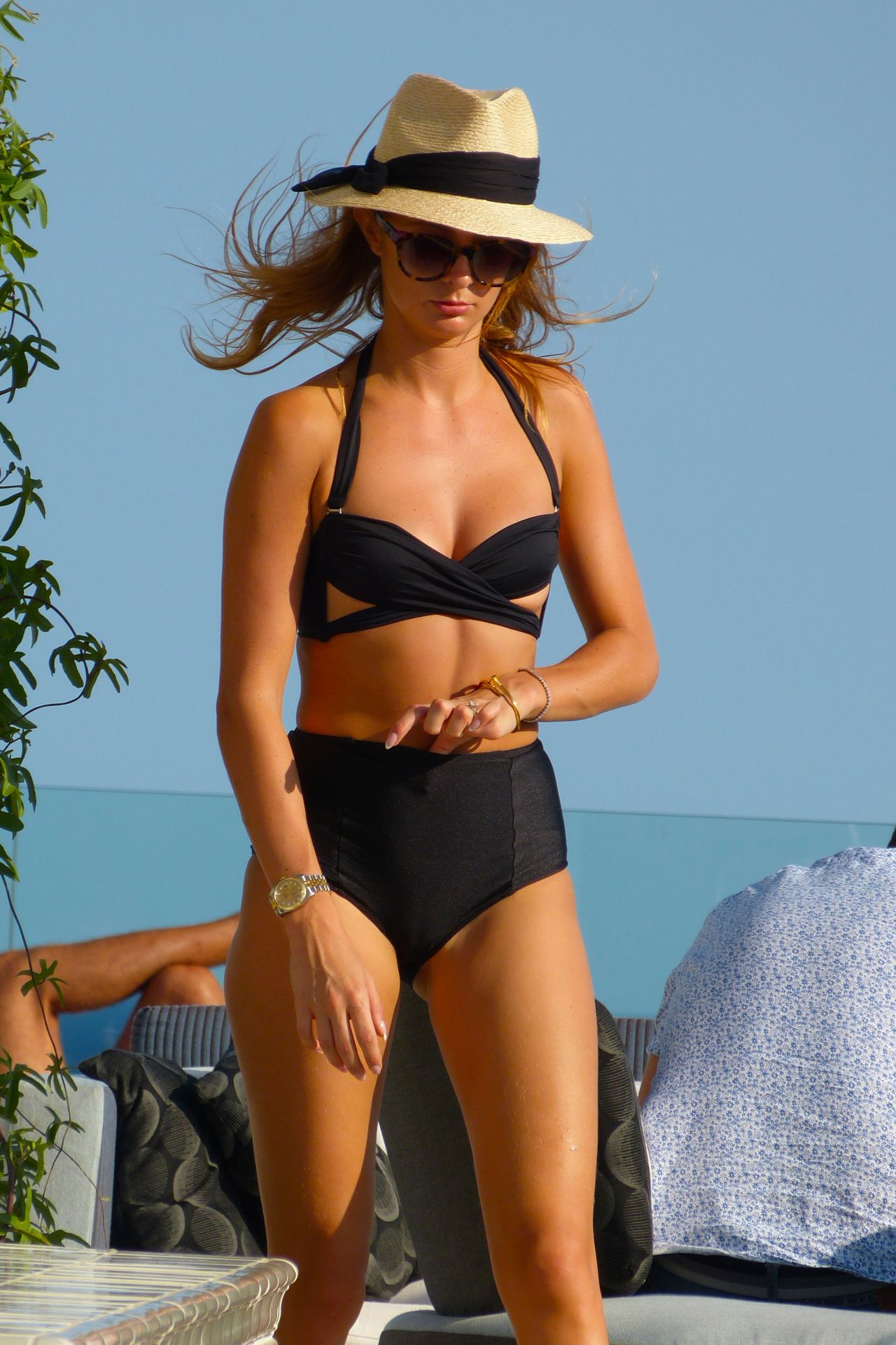 Millie Mackintosh Hot in Bikini- Enjoying the Sun in Ibiza - August 2014