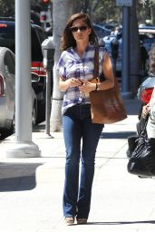 Minka Kelly - Out in Los Angeles, August 2014