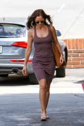 Minka Kelly Street Style - at Bristol Farms in LA, August 2014